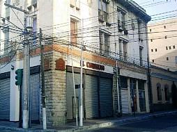 Edificio donde está El Cafetalito