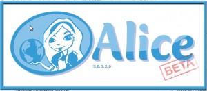 Logo de Alice 3.0.3.2.0 Beta