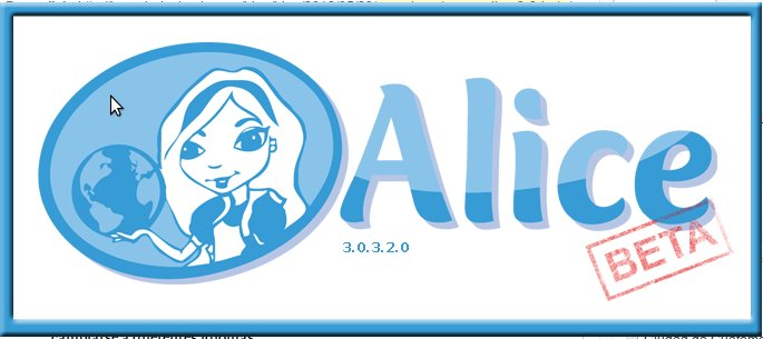 Logo de Alice 3.0.3.2.0 Beta